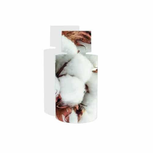 Flacon musc blanc